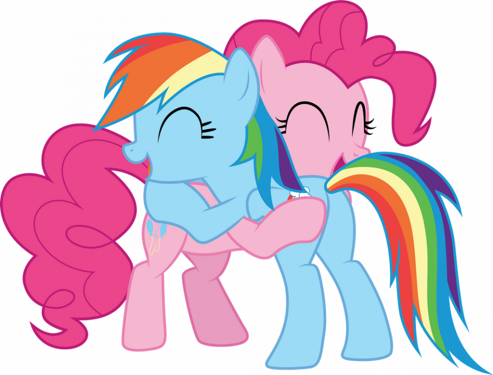 pinkie_pie_and_rainbow_dash_hugging_by_c