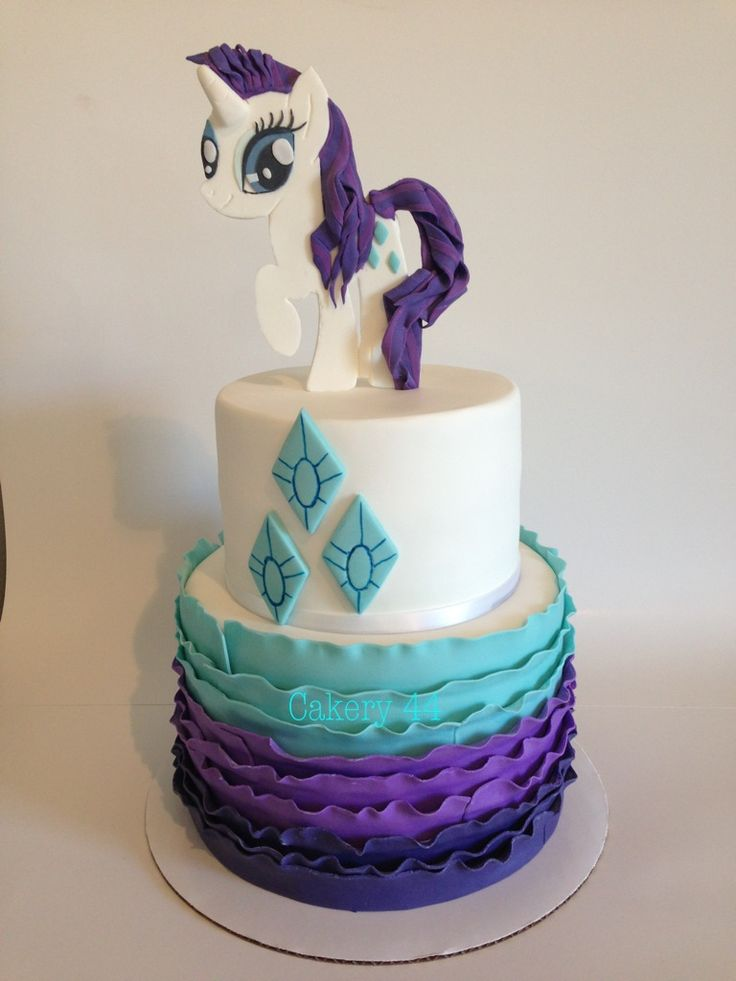 Image result for mlp rarity cake