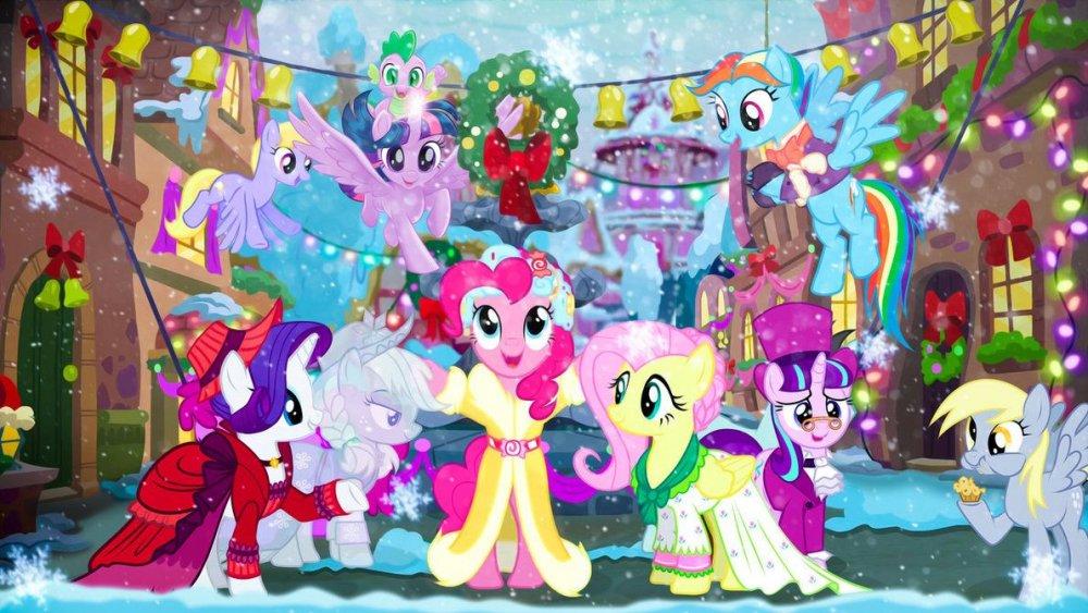 Hearth's Warming Eve 4k Wallpaper by wild-woelfchen.deviantart.com on  @DeviantArt | Little pony, Mlp pony, Birthday humor