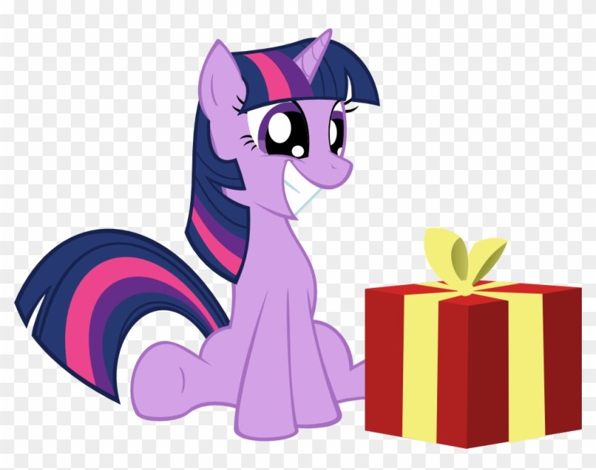 Merry Christmas Twilight Sparkle By Kalleflaxx - Twilight Sparkle Happy  Birthday - Free Transparent PNG Clipart Images Download