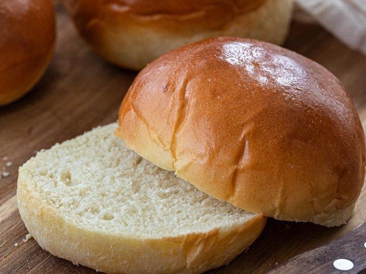 The Fluffiest Brioche Buns Recipe - Olivia's Cuisine