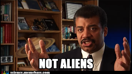 NOT ALIENS science.memebase.com Giorgio A. Tsoukalos Ancient Aliens