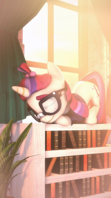 the_sleeping_bookworm_by_sourcerabbit_dd
