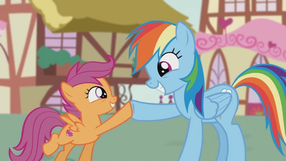 Rainbow Dash & Scootaloo - I'm so proud of you, little buddy. You've taught  me a thing or two - YouTube