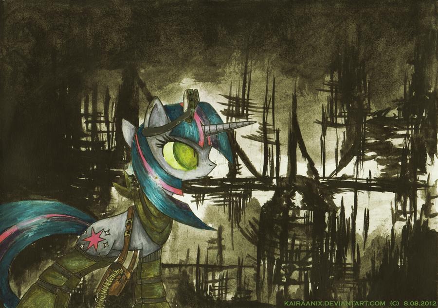My (Little) Apocalypse - Twight Sparkle by KairaAnix