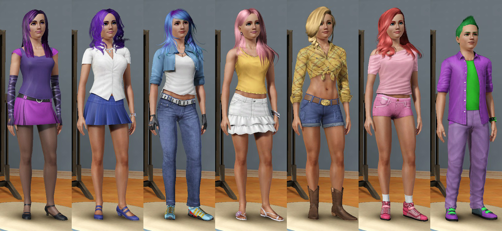 humanized ponies in 3d visual fan art mlp forums