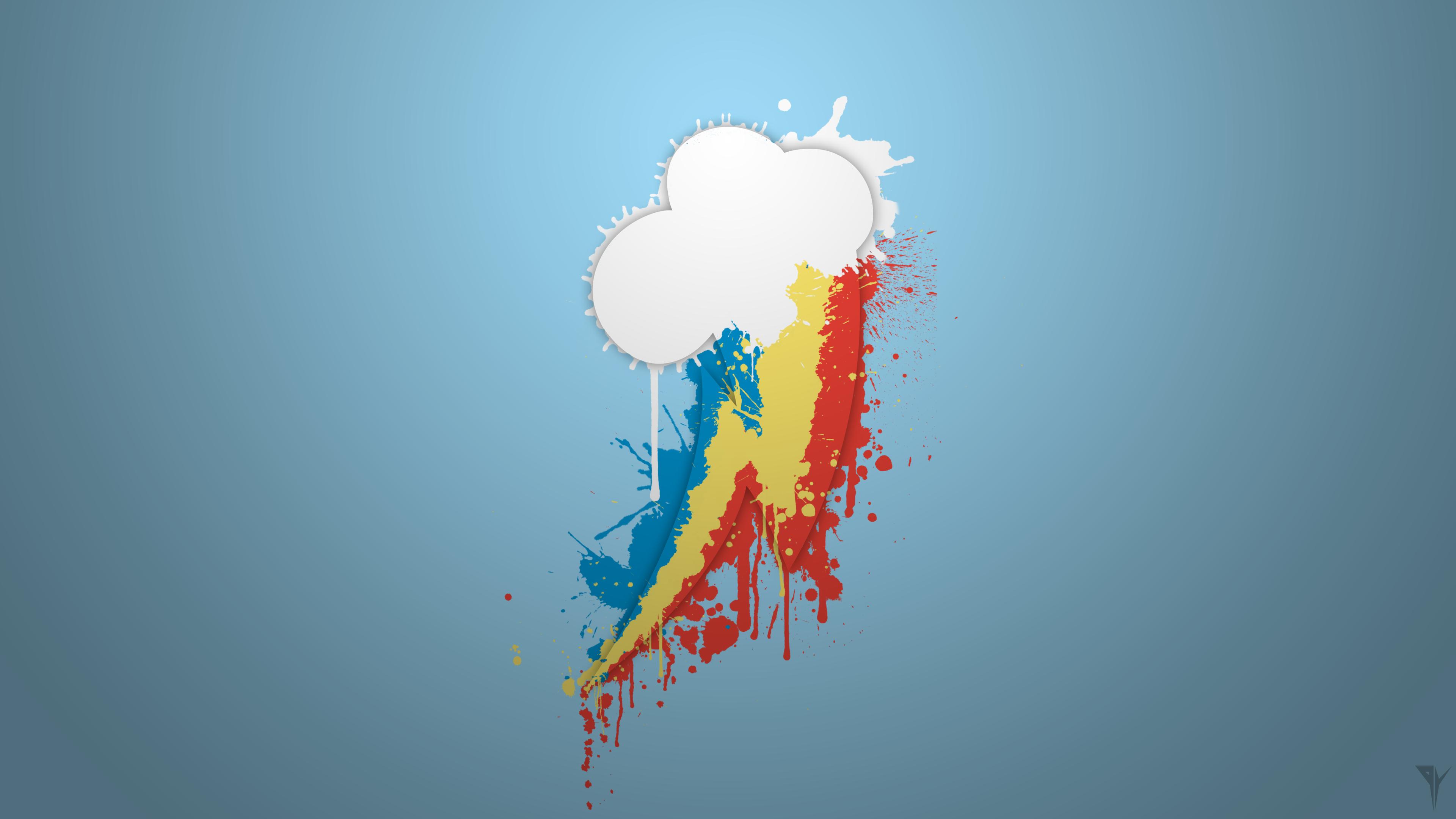 Rainbow Dash Wallpaper V 2 Visual Fan Art Mlp Forums