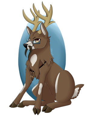 Commission - Deer-sona (by Crecious.png