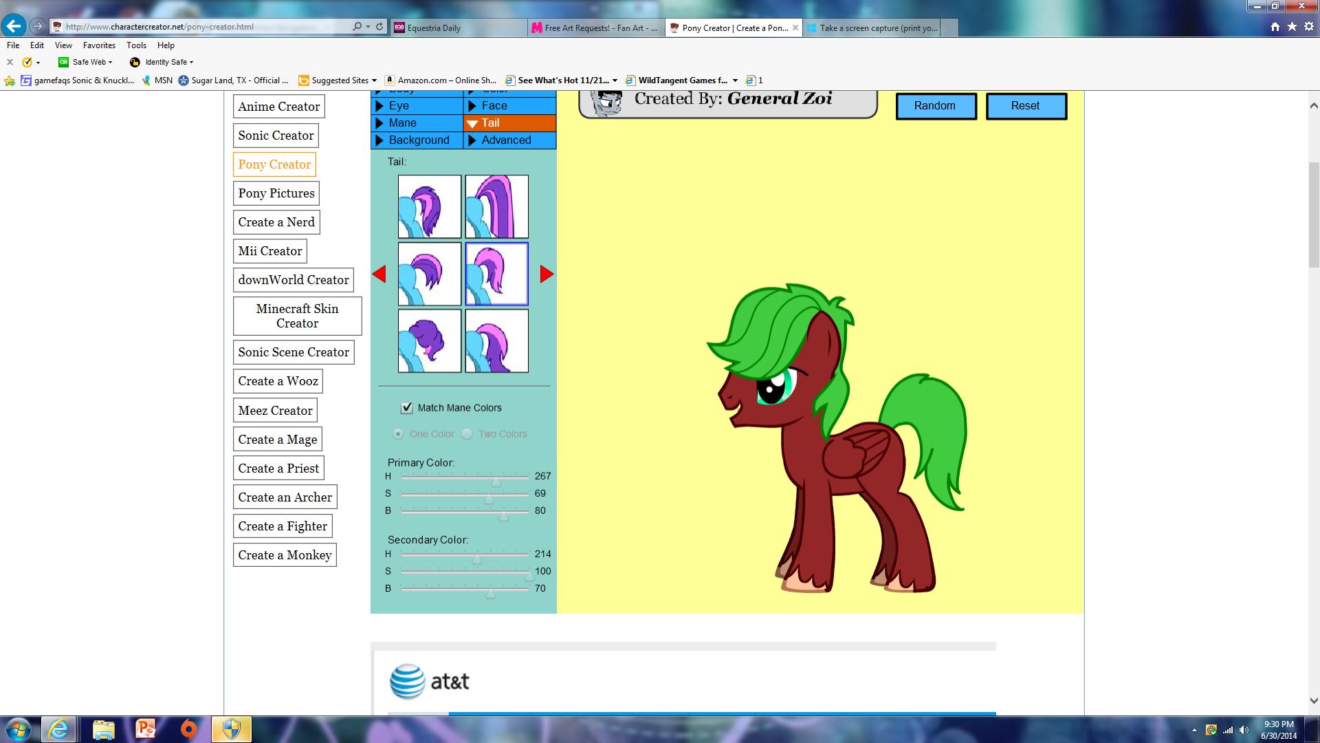 Как сделать пони креатор на весь экран