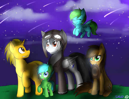Commission - The Derbyshire Herd (by spitfireart).png