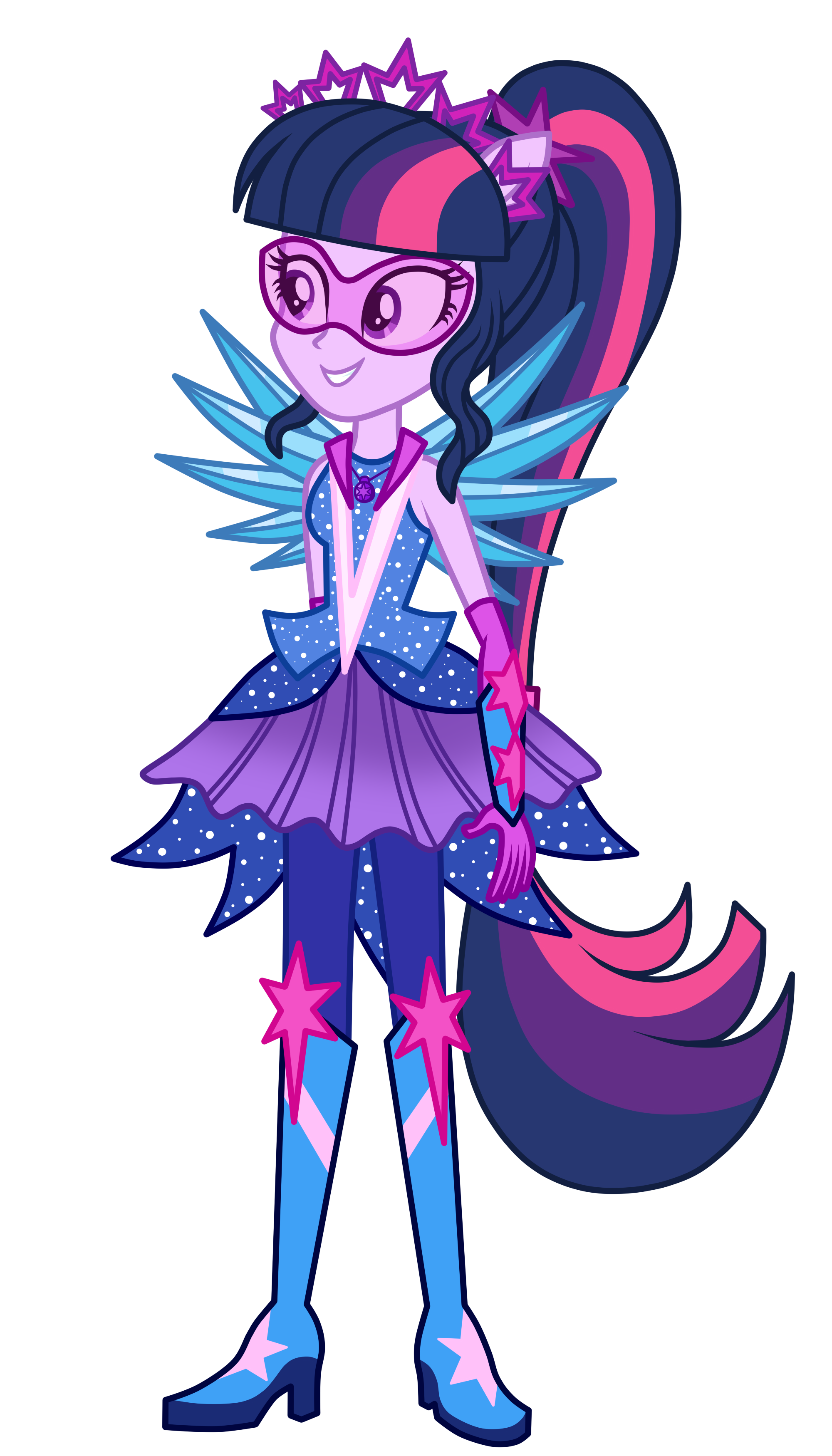 crystal guardian twilight sparkle starsuenet - 676×1183