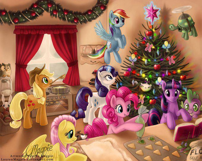 Mlp Christmas.Merry Christmas To All General Discussion Mlp Forums