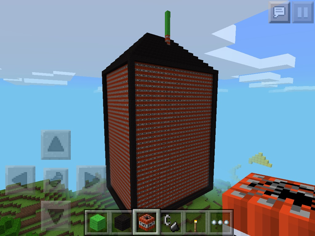 how to make a big bomb in minecraft