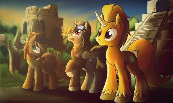 Commission - The City Forgotten (by Ruhisu).png