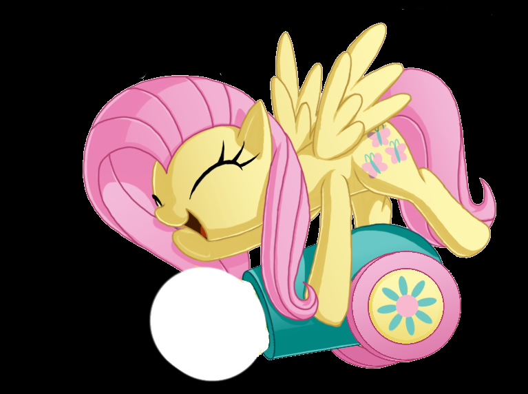 573745__safe_pinkiepie_fluttershy_angelbunny_dialogue_balloon_partycannon_rolereversal_shy_cannon.png~original.png