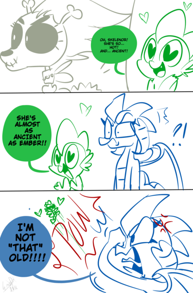 spike x skeleanor show discussion mlp forums