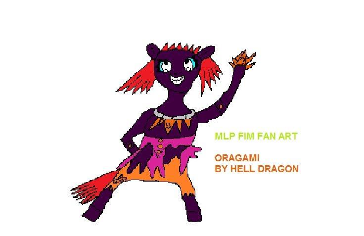 MLP FIM FAN ART - ORAGAMI.jpg