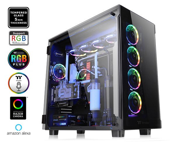 Thermaltake View 91 Tempered Glass RGB Edition Super Tower Chassis.jpg