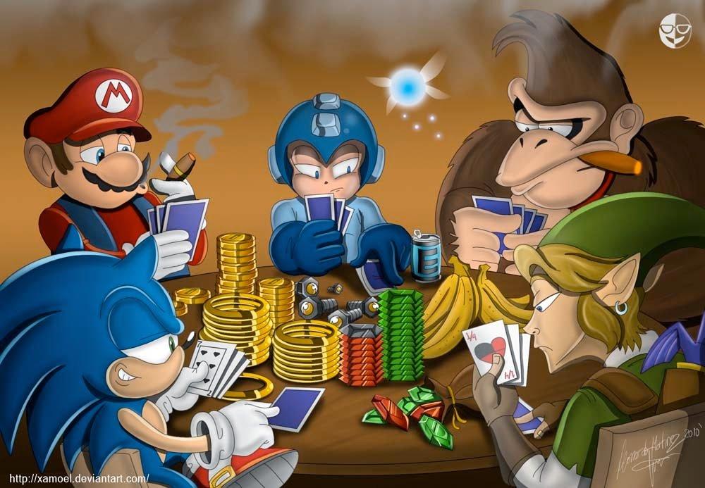 Mario-Sonic-Donkey-Kong-Mega-Man-Fan-Art-Gaming-poker-by-xamoel.jpg.f4257a8fb36aee1ec02c28245d3bee1b.jpg