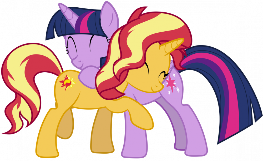 Sunset and Twilight hug.png
