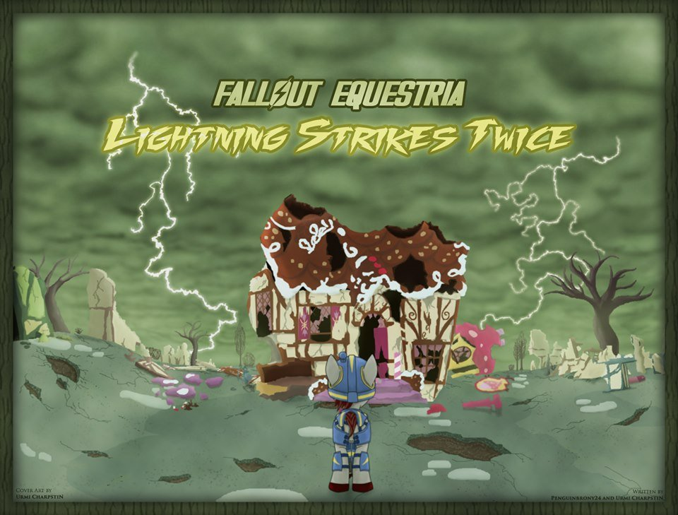 Fallout Equestria: Lightning Strikes Twice has arrived