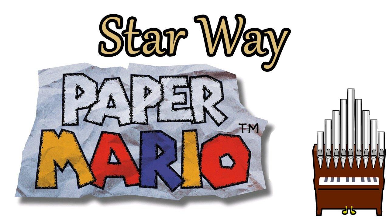 Star Way Paper Mario Organ Cover