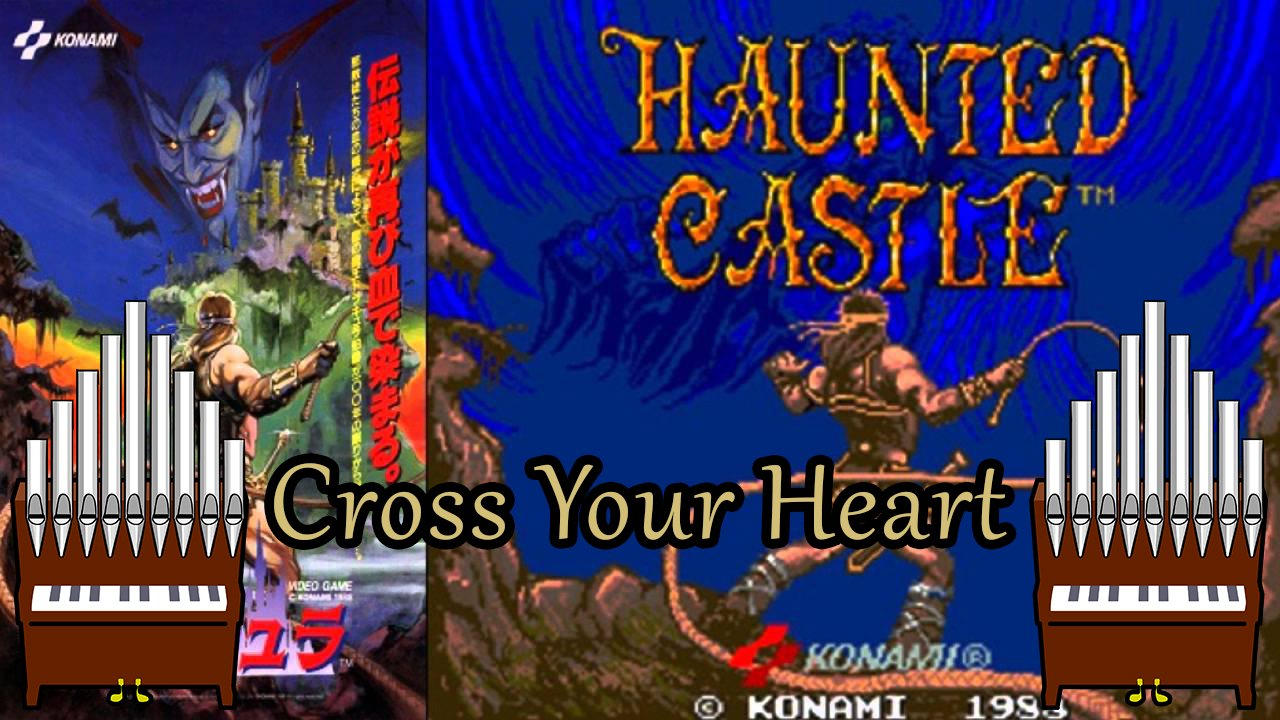 Cross Your Heart (Haunted Castle) Organ Cover