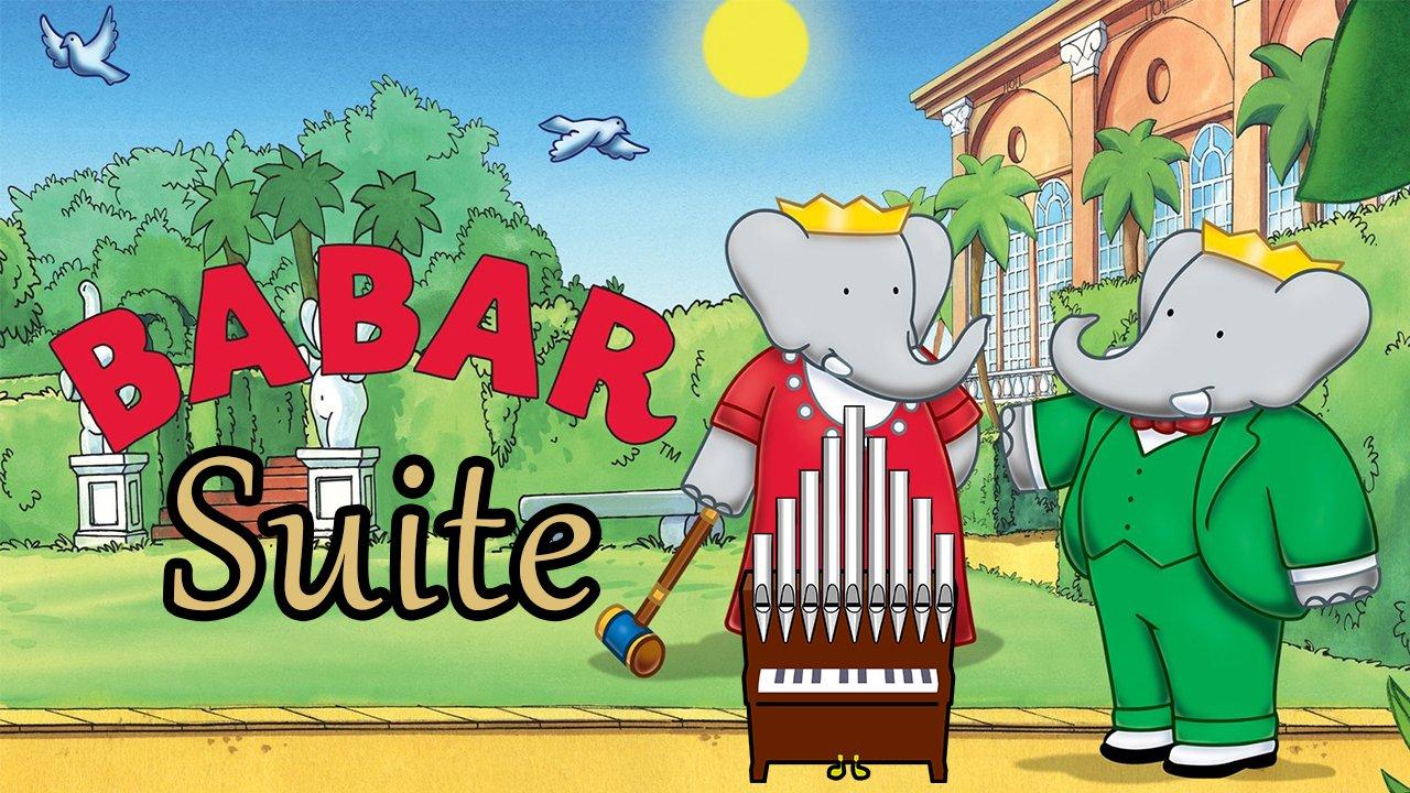 Babar Suite Organ Cover