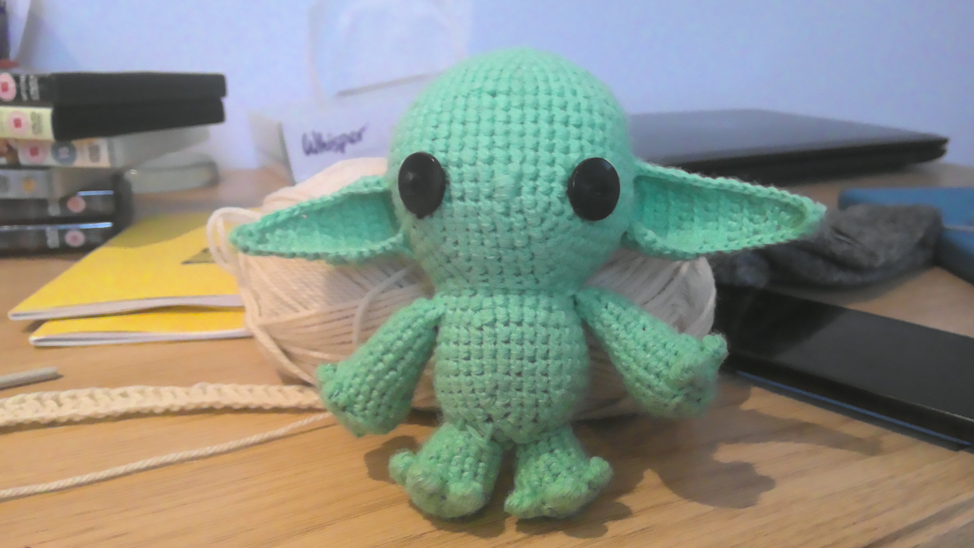 Baby Yoda without Robe