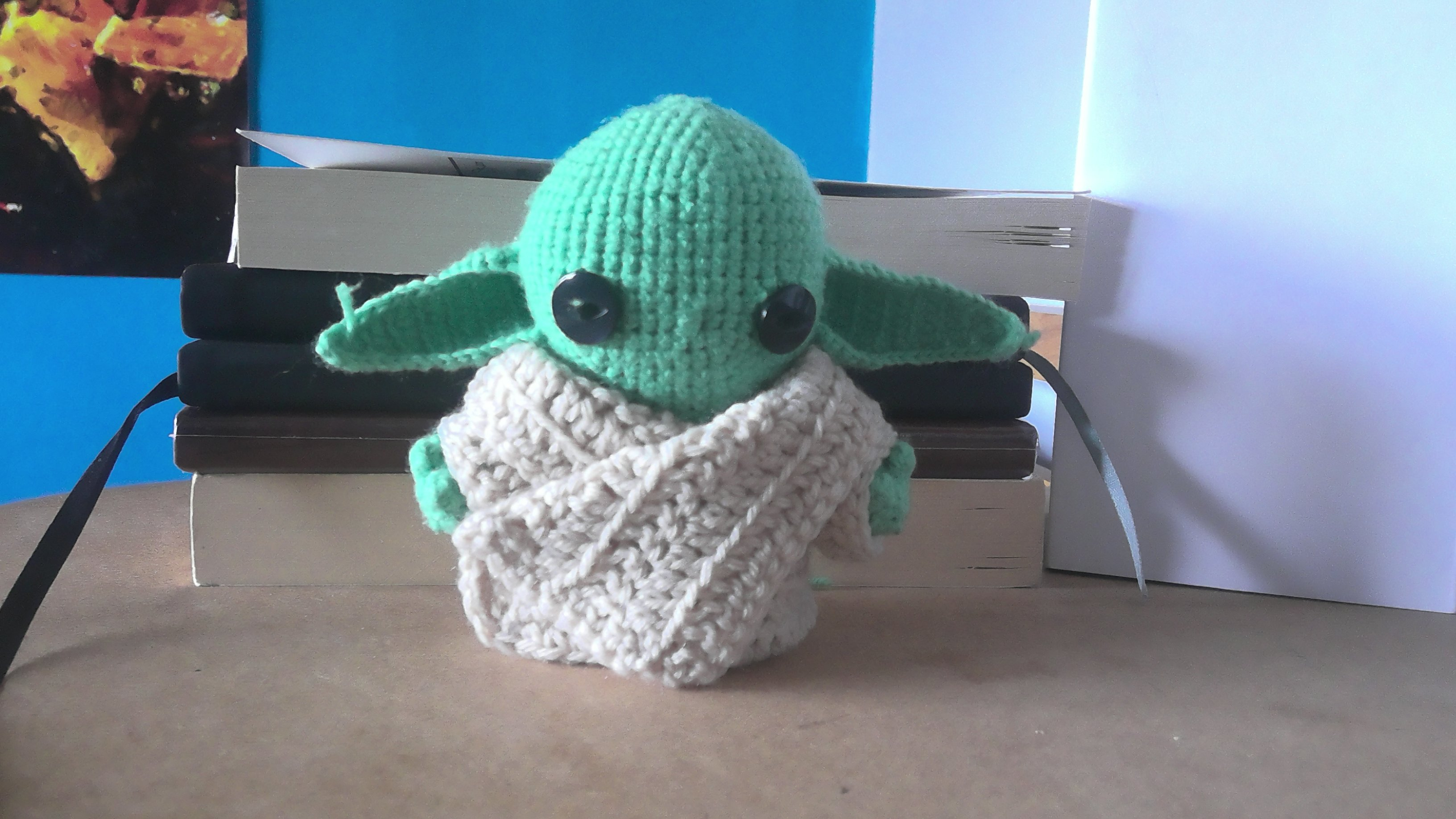 Baby Yoda completed