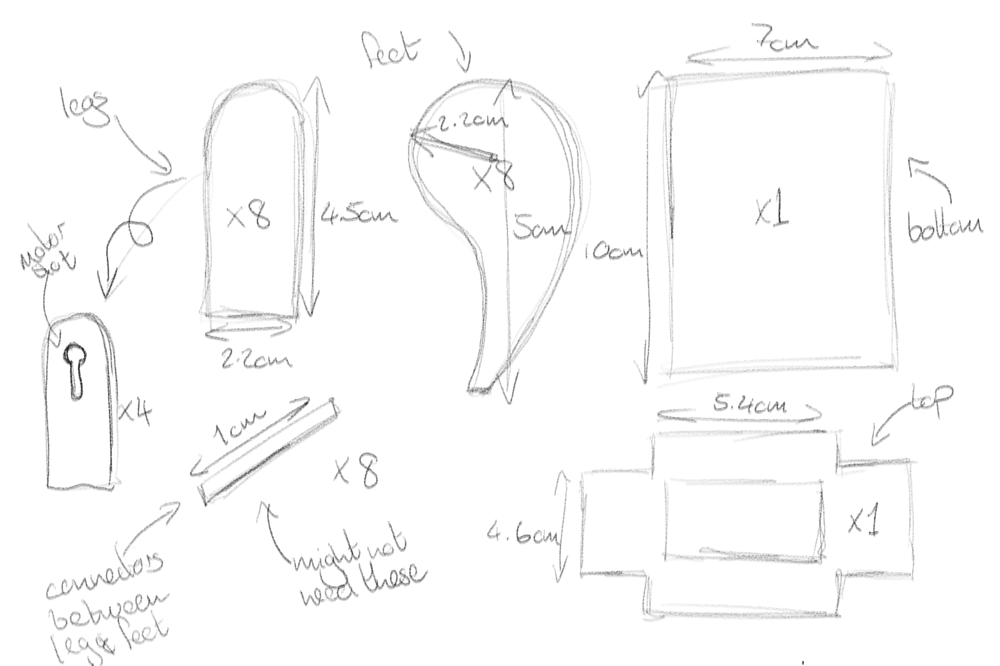 Day 3-4: Measurements and part design
