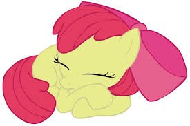 apple bloom sleeping.jpg