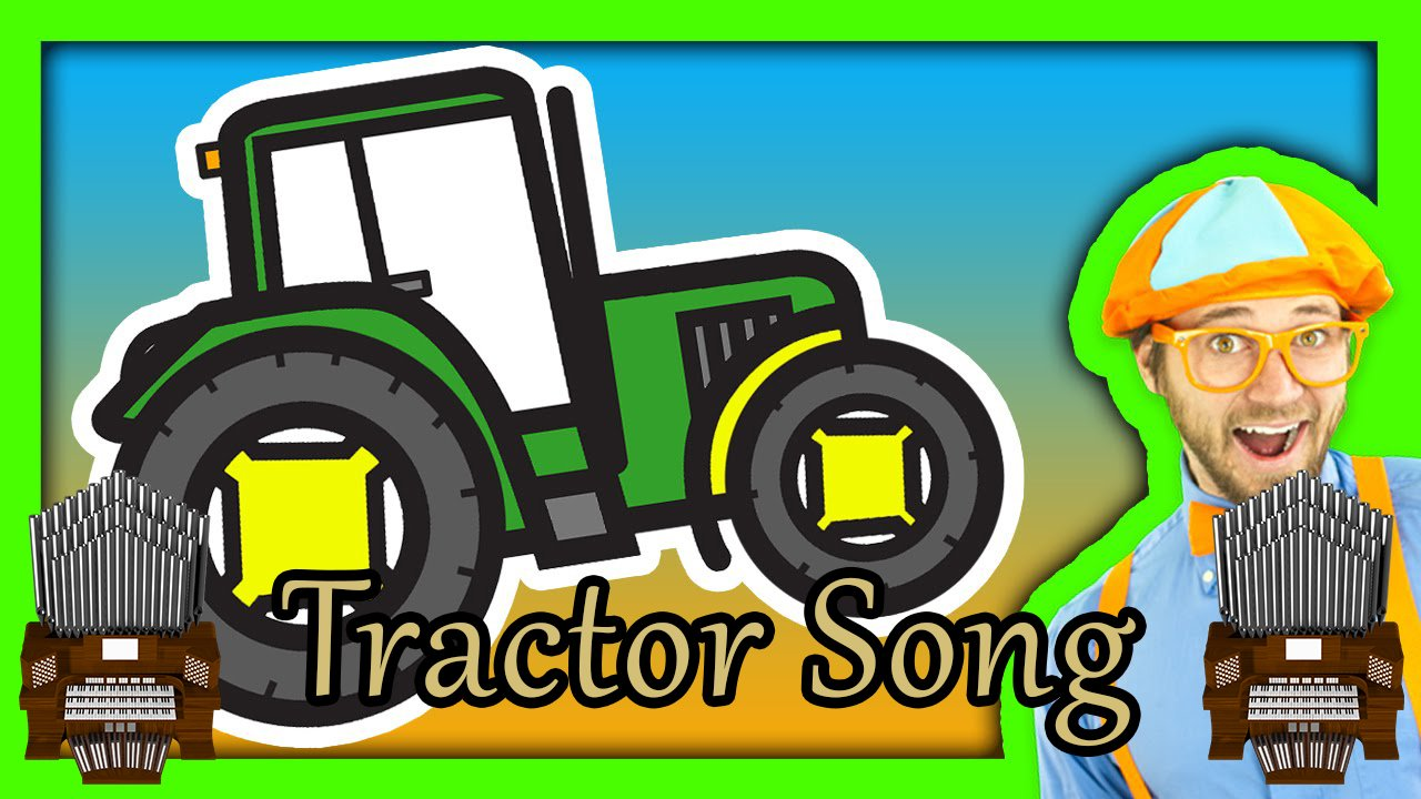 Tractor Song (Blippi) Organ Cover [Patreon Request]