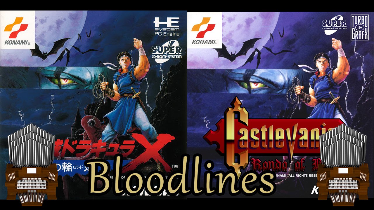Bloodlines (Castlevania: Rondo of Blood) Organ Cover