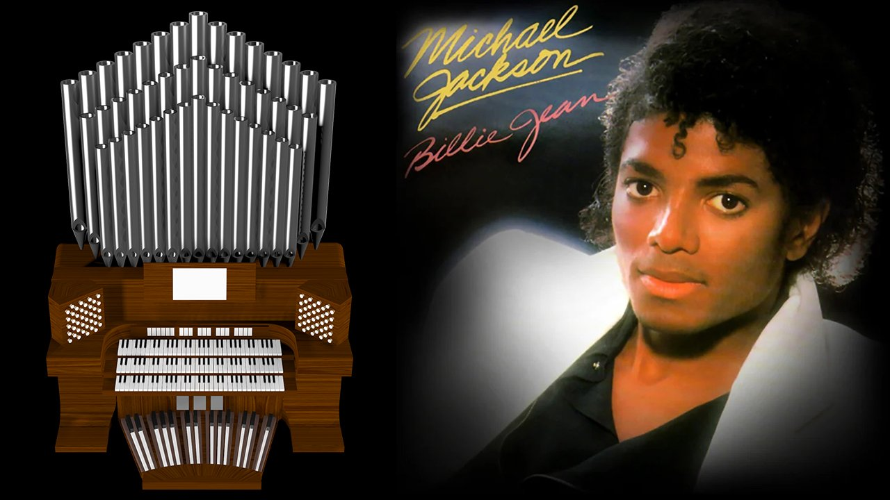 Billie Jean (Michael Jackson) Organ Cover